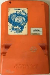 Street Fighter Alpha 3 (orange) Box Art