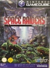 Space Raiders Box Art