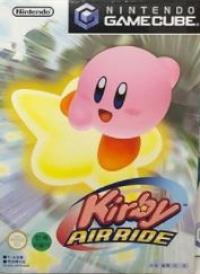 Kirby Air Ride Box Art