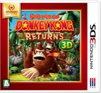 Donkey Kong Returns 3D - Nintendo Selects Box Art
