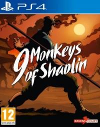 9 Monkeys of Shaolin Box Art