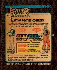 Art of Fighting Box Art