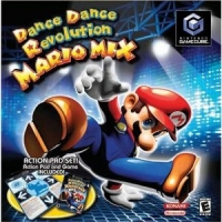 Dance Dance Revolution: Mario Mix - Action Pad Set Box Art