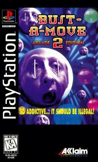 Bust-A-Move 2: Arcade Edition (Long Box Clear Case) Box Art