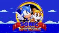 Sonic the Hedgehog: Triple Trouble (16-Bit) Box Art