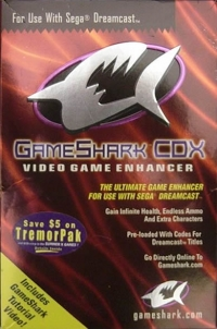 GameShark CDX Video Game Enhancer Box Art