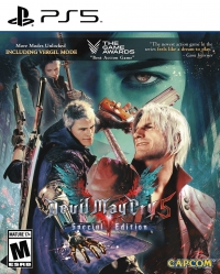 Devil May Cry 5 - Special Edition Box Art