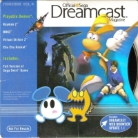 Official Sega Dreamcast Magazine Demo Disc Vol. 4 - March 2000 Box Art