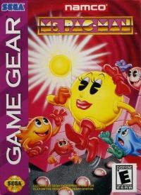 Ms. Pac-Man (Majesco) Box Art