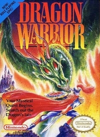 Dragon Warrior (Butterscotch Label) Box Art