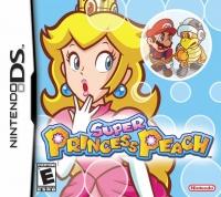 Super Princess Peach Box Art