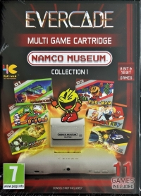 Namco Museum Collection 1 Box Art