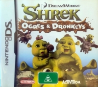 Shrek: Ogres & Dronkeys Box Art