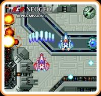 ACA NeoGeo: Alpha Mission II Box Art