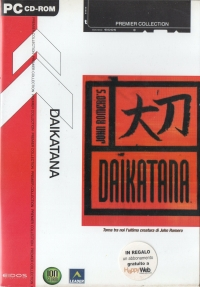 Daikatana - Premier Collection [IT] Box Art