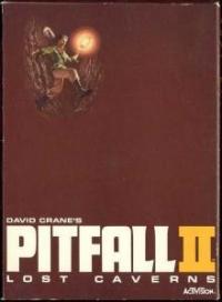 David Crane's Pitfall II: Lost Caverns Box Art