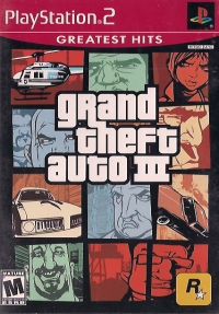 Grand Theft Auto III - Greatest Hits Box Art