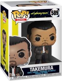 Cyberpunk 2077 POP! Games 589 TAKEMURA Box Art