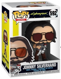 Cyberpunk 2077 POP! Games 592 JOHNNY SILVERHAND Box Art