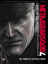 Metal Gear Solid 4: Guns of the Patriots - The Complete Official Guide Box Art