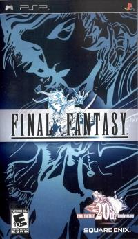 Final Fantasy (20th Anniversary Logo) Box Art