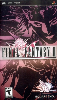 Final Fantasy II (20th Anniversary Logo) Box Art