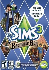 Sims 3, The: Barnacle Bay Box Art
