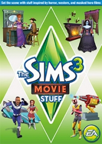 Sims 3, The: Movie Stuff Box Art