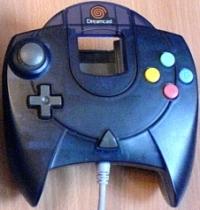 Sega Controller (Biohazard Code:Veronica black) Box Art