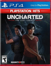 Uncharted: The Lost Legacy - Playstation Hits Box Art