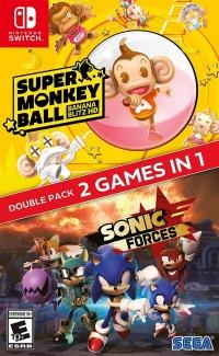 Super Monkey Ball: Banana Blitz HD / Sonic Forces Box Art