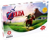 Legend Zelda, The: Ocarina of Time - Winning Moves Puzzle Box Art