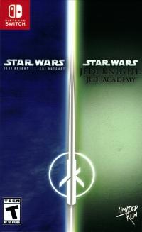 Star Wars: Jedi Knight II: Jedi Outcast / Jedi Knight: Jedi Academy Box Art