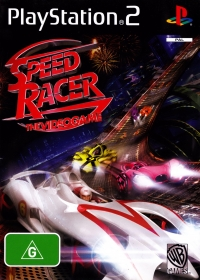 Speed Racer: The Videogame Box Art