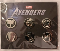 Avengers, the Pin Set GameStop Exclusive Box Art