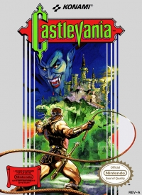 Castlevania (oval seal) Box Art