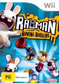 Rayman Raving Rabbids Box Art
