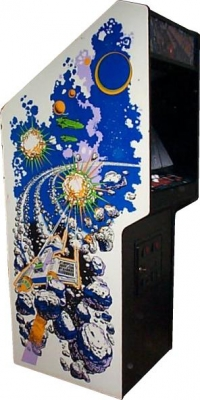 Asteroids Deluxe (Upright) Box Art