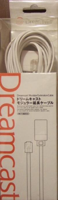 Sega Dreamcast Modular Extension Cable Box Art