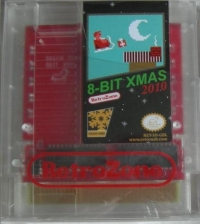 8-bit Xmas 2010 Box Art