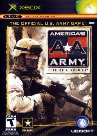 America's Army: Rise of a Soldier Box Art