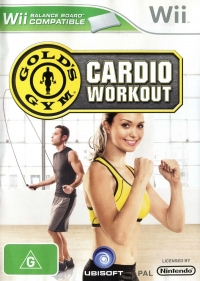 Gold's Gym: Cardio Workout Box Art