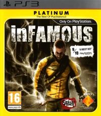 inFamous - Platinum Box Art