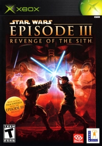 Star Wars Episode III: Revenge of the Sith Box Art