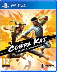 Cobra Kai: The Karate Kid Saga Continues Box Art