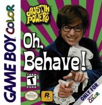Austin Powers: Oh Behave! Box Art