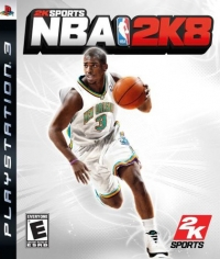 NBA 2K8 Box Art