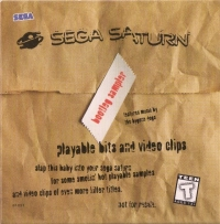 Sega Saturn Bootleg Sampler Box Art