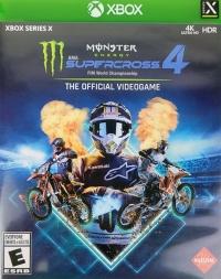 Monster Energy Supercross 4 Box Art