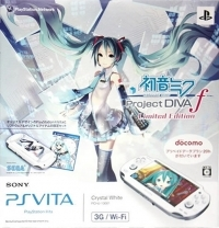 Sony PlayStation Vita PCHJ-10001 - Hatsune Miku: Project Diva F Limited Edition Box Art